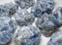 Kalsiitti sininen raakapala 25-41mm