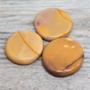 Mookiitti litteä (keltasävyinen) 35-50mm