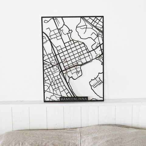 Kotikaupunkikartta Hämeenlinna