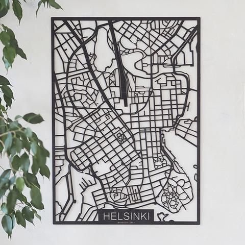 Kotikaupunkikartta Helsinki