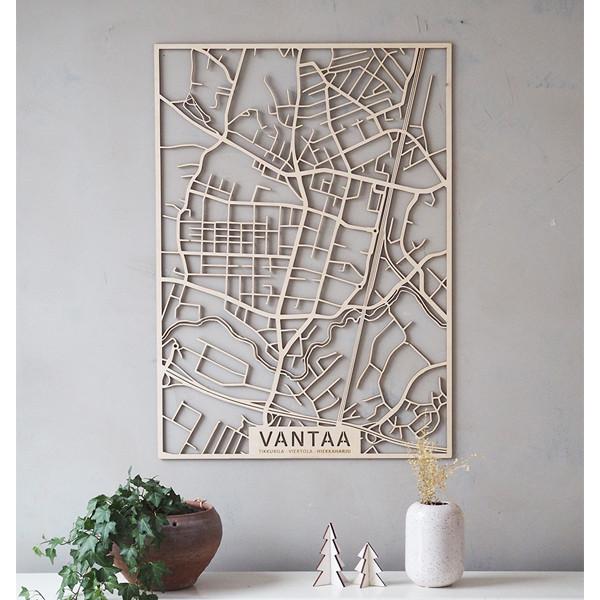 Kotikaupunkikartta Vantaa Tikkurila Etela8 Fi Verkkokauppa