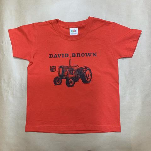Lasten David Brown T-Paita