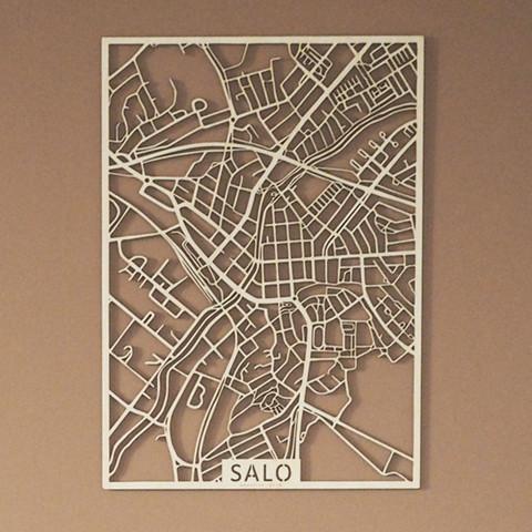 Kotikaupunkikartta Salo