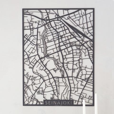 Kotikaupunkikartta Seinäjoki