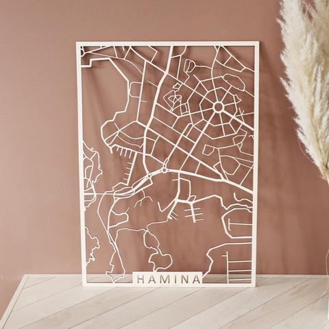 Kotikaupunkikartta Hamina