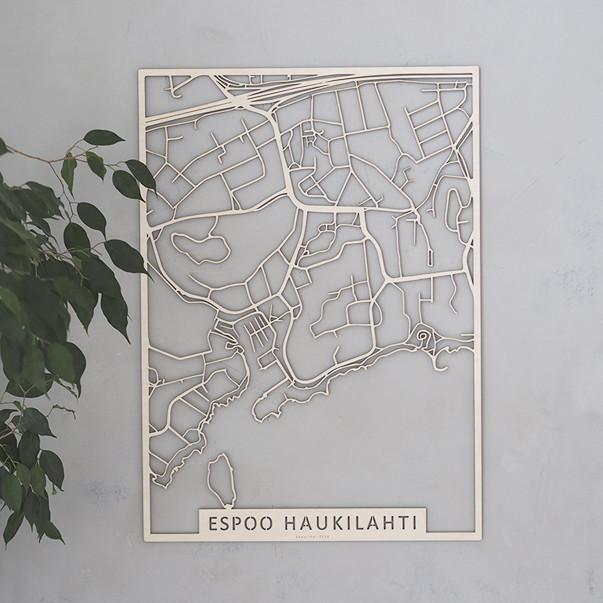 Kotikaupunkikartta Espoo Haukilahti Etela8 Fi Verkkokauppa