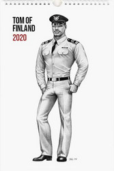 Seinäkalenteri Tom of Finland, 2020