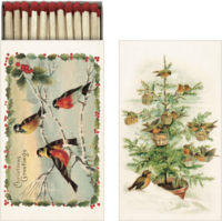 Tulitikkuaski, Christmas Greetings, Linnut
