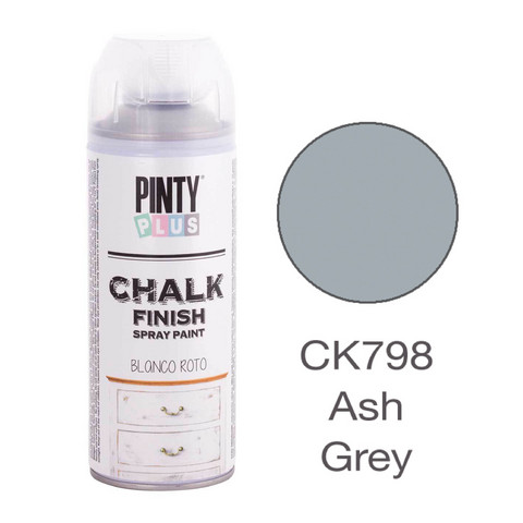Kalkkimaalispray Ash Grey, 400ml