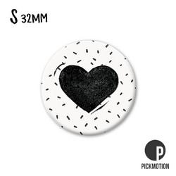 Magneetti - Mustavalkoinen sydän, S