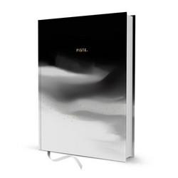 Pistemuistikirja A5 Putinki Design - Mustavalkoinen