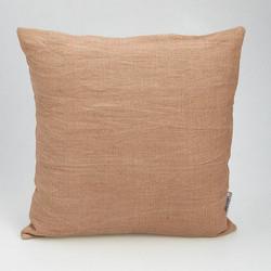 Pellavatyynynpäällinen 45x45 cm, Suklaa