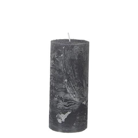 Pöytäkynttilä Harmaa 15x7 cm