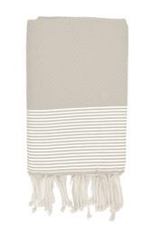 Hamam-pyyhe Vaaleanharmaa - Hunaja, 100x200cm