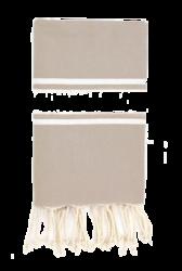 Hamam-pyyhe Maitokahvi - Basic, 100x200cm