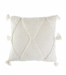 Tyynynpäällinen Valkoinen Boho