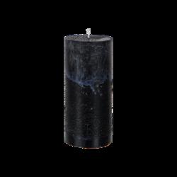 Pöytäkynttilä Musta 15x7 cm