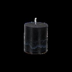 Pöytäkynttilä 7x7,5cm, Musta