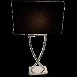 Omega Pöytävalaisin, Kromi, 67cm