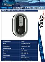 Latauspiste, Type 2 - 16A (11kW) rasiamalli