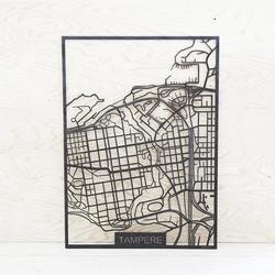 Kotikaupunkikartta Tampere