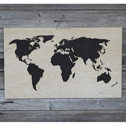 Puinen Maailmankartta