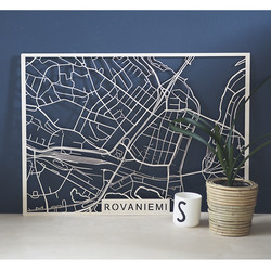 Kotikaupunkikartta Rovaniemi
