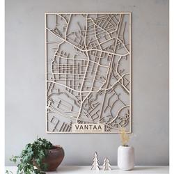 Kotikaupunkikartta Vantaa-Tikkurila