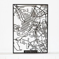 Kotikaupunkikartta Joensuu