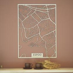Kotikaupunkikartta Espoo (Maininki, Espoonlahti, Soukka, Laurinlahti, Soukanranta)