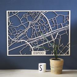 Kotikaupunkikartta Espoo keskusta