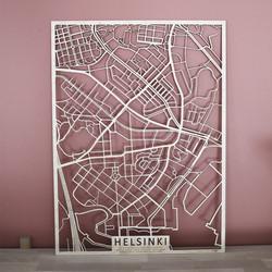 Kotikaupunkikartta Helsinki (Itä-Pasila, Vallila, Hermanni, Kyläsaari, Alppila, Kallio, Harju, Kinapori, Verkkosaari, Torkkelinmäki, Sörnäinen, Kalasatama)