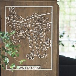 Kotikaupunkikartta Helsinki Lauttasaari