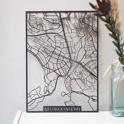 Kotikaupunkikartta Helsinki Munkkiniemi