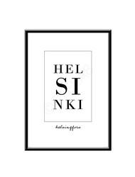 Helsinki/Helsingfors -juliste