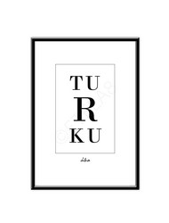 Turku/Åbo -juliste