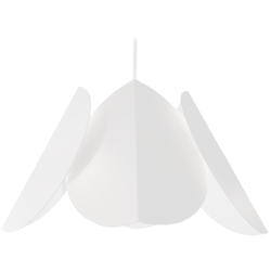 Lehmus Riippuvalaisin, Valkoinen