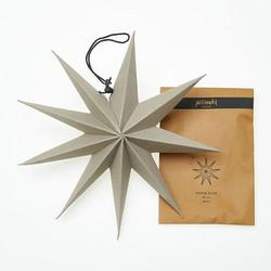 Paperitähti, 30 cm Harmaa