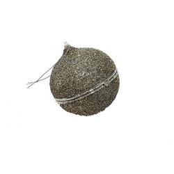 Kuusenkoristepallo, avattava glitteri 9 cm