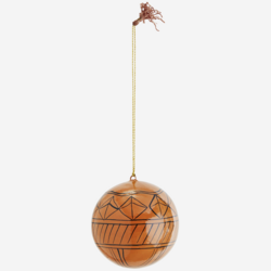 Kuusenkoristepallo, Oranssi kuviollinen