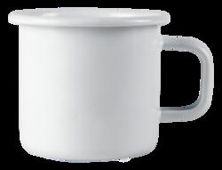 Emalimuki 3,7dl, Basic Valkoinen