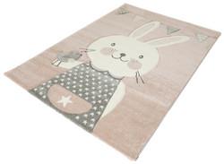 Matto Vaaleanpunainen Pupu, 120x170