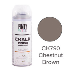 Kalkkimaalispray Chestnut Brown, 400ml
