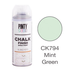 Kalkkimaalispray Mint Green, 400ml