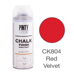 Kalkkimaalispray Red Velvet, 400ml
