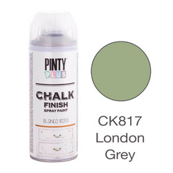 Kalkkimaalispray London Grey, 400ml