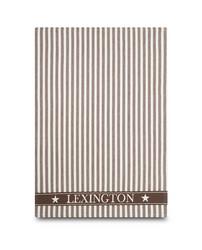 Keittiöpyyhe Striped Classic, Ruskea-Valkoinen
