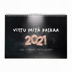 TARJOUS - Seinäkalenteri 2021, Paskakauppa