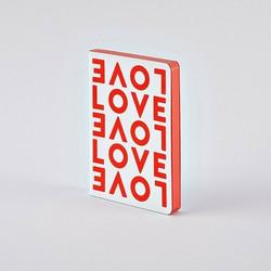 Nuuna Muistikirja Graphic S - Love