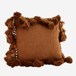 Tyynynpäällinen Tasseli, Mantelinruskea